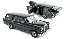 Norev 1968 Mercedes Benz 200 Kombi Universal Black Color 1:18**Awesome Car**