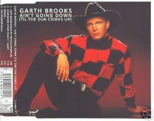 GARTH BROOKS Ain't Going Down HOLLAND CD single