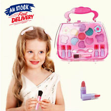 Kids Pretend Non Toxic Girl Play Kit Princess  Cosmetic Xmas toy Set Make up toy