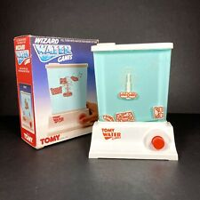Tomy Wizard Water Games Robot Vintage Retro Toy Skill Push Button Aqua Game VGC