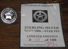GWB Sterling Silver Pin