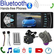 """4.1"""" Bluetooth автомобильный стерео MP5 плеер Usb Tf карта Aux радио головное устройство с камерой"""