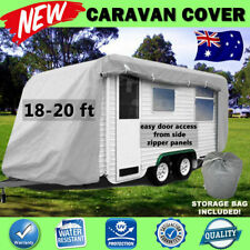 Quality Caravan Cover Multi Side Entry 4 Layer Large Suit 18ft-20ft