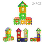 Hot Kids Plastic DIY House Bricks Building Block Early Educational Puzzle Toys