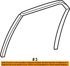 Dodge CHRYSLER OEM 05-08 Magnum Glass-Rear Door-Upper Channel Right 5065188AH