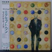 MICHAEL HOENIG XCEPT ONE CINEMA RP28-5504 Japan PROMO OBI VINYL LP