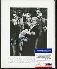 Eva Le Gallienne Signed 8x10 Photograph PSA/DNA COA AUTO Autograph