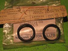 YAMAHA XS360 XS400 '76-82 TTR125 FORK CAP BOLT GASKETS (2) OEM # 1L9-23114-00-00