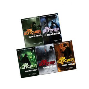 Dresden Files Series 2 Vol (6-10) Jim Butcher Collection 5 Books Pack Set New