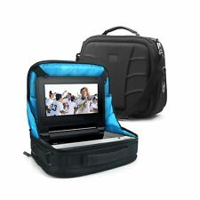 Portable DVD Player Headrest Car Mount Display Case by USA Gear - Storage Bag...