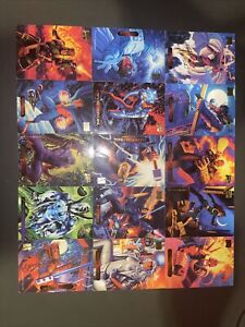Marvel Trading Cards Bundle Qty 22. Good Condition