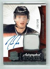 10-11 UD The Cup  Jacob Josefson  /249  Auto  Patch  Rookie
