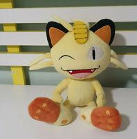Pokemon Meowth Plush Toy Tomy Nintendo Game Freak Children's Toy 26cm Tall!