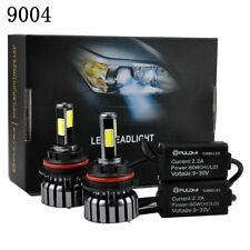 120W 12800lm 4 Sides COB LED Headlight Kits HB1 9004 Hi/Low Beam 6000K Bulbs A