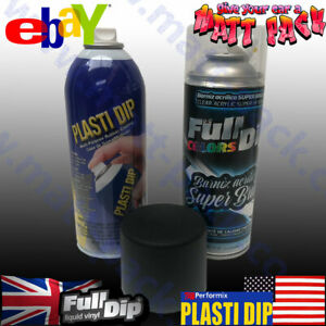 Super Gloss BLACK PLASTI DIP® KIT - Fuel Resistant!