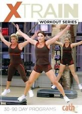 CATHE FRIEDRICH XTRAIN 9 DVD SET PLUS GUIDE EXERCISE WORKOUT NEW SEALED X TRAIN