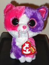 """NMT* Ty Beanie Boos ~ PELLIE the 6"""" Cat (Claire's Exclusive) ~ NEW with NM TAGS"""
