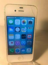 Apple iPhone 4S - 16GB - White (Unlocked) Smartphone Mobile - Crack to corner