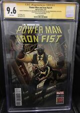 POWER MAN & IRON FIST #1 CGC SS 9.6 SIGNED X8 MIKE COLTER ALI ROSSI * LUKE CAGE