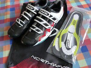 Northwave Extreme Tech 3S lightweight carbon SPD-SL 3-bolt road shoes EU46 UK12