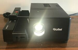 Rollei P355 Automat Remote Focus Slide Projector. Original Box. Fully Working