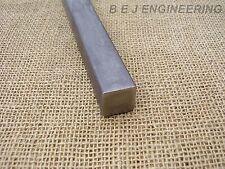 Black Mild Steel Square Bar 25mm x 25mm - 250mm long