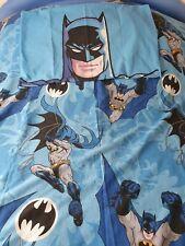 BATMAN SUPER HEROS CHILDRENS SINGLE QUILT MATCHING PILLOWCASE