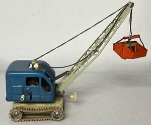 (BOT) Vintage Tin Wind Up Toy Crane