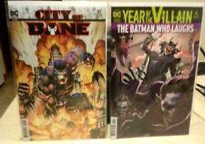 Batman Superman 4 Batman 82 NM Acetate Cover Who Laughs City OF Bane DC Lot