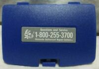 Blue Pokemon Battery Cover Game Boy Color for GBC Replacement Door Sticker New