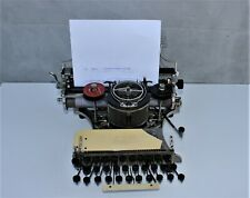 Antique American Typewriter Machine Hammond 12 1905 Working Typewriter man cave