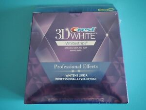 Crest 3D Whitestrips Professional Effects 20 pouche with 40 strip