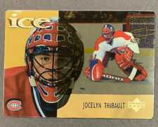 1998-99 McDonalds Upper Deck Ice - #19 Jocelyn Thibault - Montreal Canadiens
