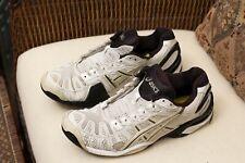 Asics Gel Resolution 1 Men's Tennis / Court Shoes White / Black  Size 10
