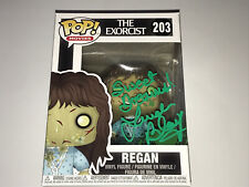 The Exorcist Rare Linda Blair Signed Funko Vinyl Pop Action Figure Horror Movie