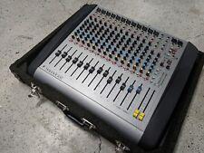 Soundcraft Spirit E12 - great sound desk for church/small studio - custom case