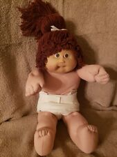 Cabbage patch Kids Coleco Auburn yarn brown eyes one tooth