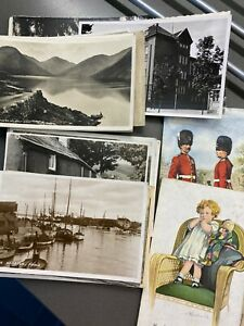 Selection of Postcards Vintage UK/Foreign Geographical & Novelty 1920's-1960's