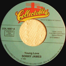 """SONNY JAMES - Young Love 7"""""""