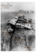 """Jasta 11 at La Brayelle, March 1917 - 19"""" x 13"""" Giant Enlarged WWI Photo"""