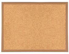 900mm X 600mm Heavy Duty Wooden Frame Cork Notice Message Board Fixings