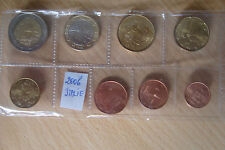 Série 1 Cent à 2 Euro FDC  ITALIE 2006