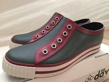 NEW Dav Luxury Sneaker Low Shoes in Slate Berry Rubber for Women US 7 EURO 37
