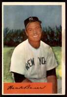 1954 Bowman Hank Bauer New York Yankees #129
