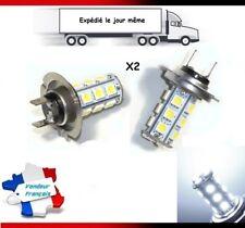 2x Ampoules H7 LED 18 SMD 5050 BLANC 6000K 35W Xenon Lampe Feux Anti brouillard