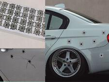 32 Bullet Hole Orifice Sticker Graphic Decal Shothole Car Auto Windows HUCA