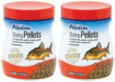(2 Pack) Aqueon Shrimp Sinking Pellets For Bottom Feeders, 3.25 oz Per Bottle