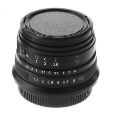 25mm F/1.8 Manual Focus Prime Lens for Panasonic Olympus M4/3 Mount GH5 E-M10II