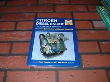 NEW AND SEALED HAYNES MANUAL FOR CITROEN DIESEL ENGINE. 1984 TO 1996. A TO N REG