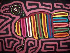 Kuna Tribe You Gotta Be Kidding Bird Mola Panama San Blas-12.73001